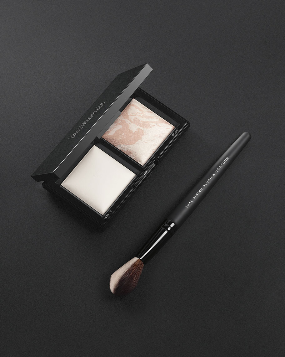 InvisibleLight_TranslucentPowderDuo_wDualFinishBrush_Stylized_OnBlack